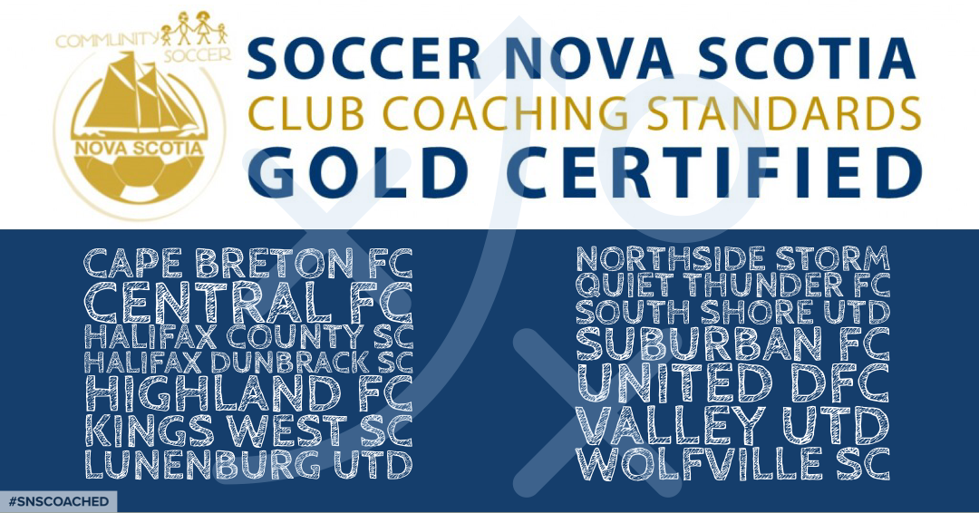 Dunbrack is Gold Certified for Club Coaching Standards!