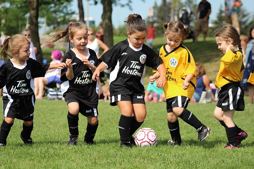 Timbits Soccer Pic