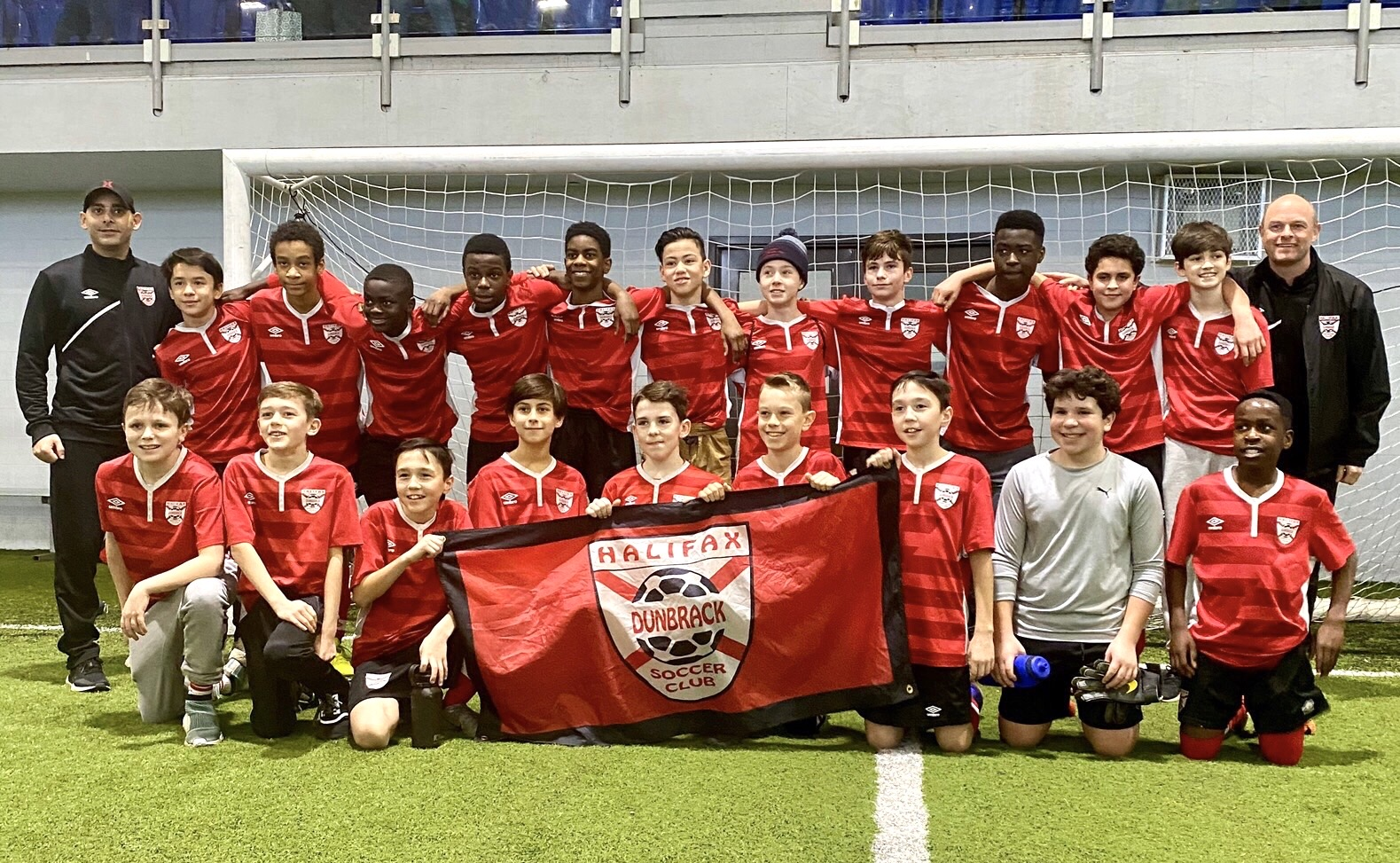 Congratulations to the Dunbrack U13AA Boys Red and Black Teams!